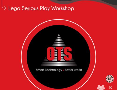 Η OTS πραγματοποιεί Lego Serious Play Workshop στο πλαίσιο χορηγίας του ΣΦΗΜΜΥ 12